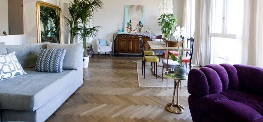 Bassano Herringbone Natural Oak